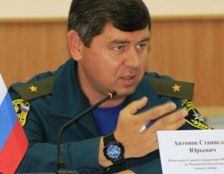 Генерал-майор Станислав Антонов, руководитель Главного управления МЧС Чувашии, написал рапорт на увольнение.